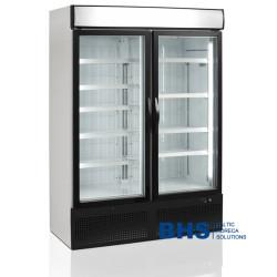 Saldētava 930 litri ar stikla durvīm