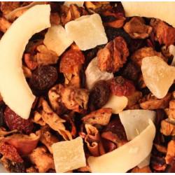 Pina Colada augļu tēja ar augļu gabaliņiem 100gr