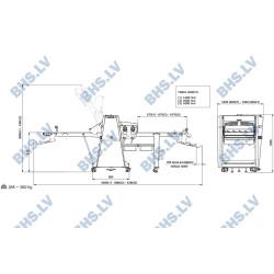 Automātiskais mīklas rullis R65A-T/14