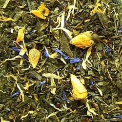 Rose of Orient zaļā tēja mango un rožu ziedlapiņām 100gr