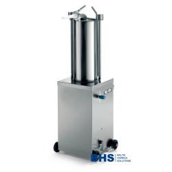 Vertikāla hidrauliska desu šprice 15 litri
