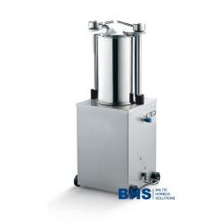 Vertikāla hidrauliska desu šprice 25 litri