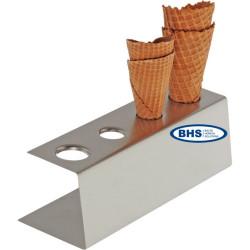 Stends saldējuma vafelēm