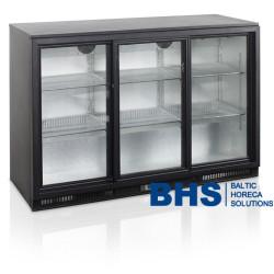 Bāra ledusskapis ar stikla durvīm BA30S3P