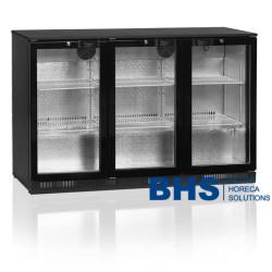 Bāra ledusskapis ar stikla durvīm DB300H3P