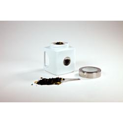 Tējas kaste ar rokturi un karoti 750 g