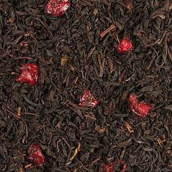 Wild Cherry melnā tēja ar ķiršu gabaliņiem 100gr