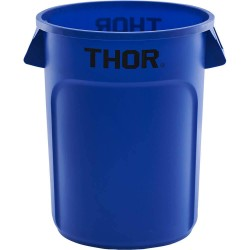 Atkritumu konteiners 75 l zils