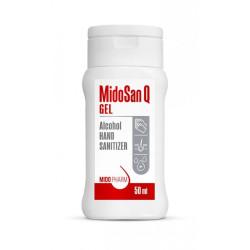 MidoSan Q GEL - roku dezinfekcijas gēls, 50ml