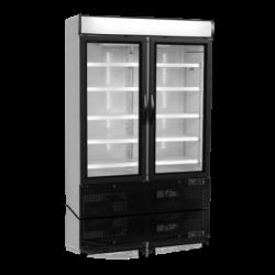Ledusskapis ar stikla durvīm NC5000