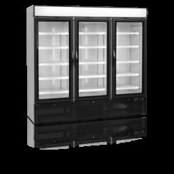 Ledusskapis ar stikla durvīm NC7500