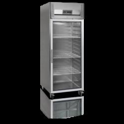 Ledusskapis 597 litri ar stikla durvīm