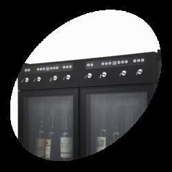 Vīna dispensers 8 pudelēm
