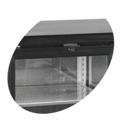 Bāra ledusskapis ar stikla durvīm CBC210G-P