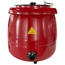 Elektriskais zupas katls 8.5l sarkans