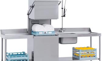 Profesionālas trauku mazgāšanas mašīnas Darba veidi un principi