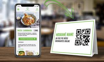 Restorānu QR Kodu ēdienkartes