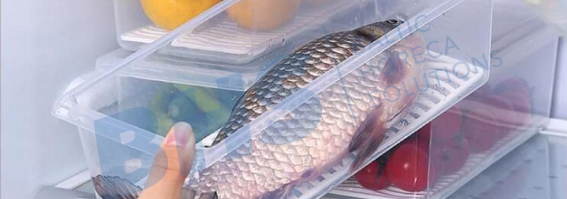Trauki pārtikas uzglabāšanai ledusskapī